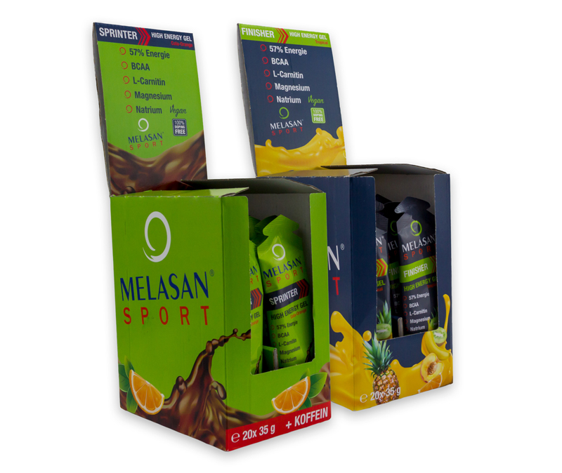 Packaging Design Melasan SPORT